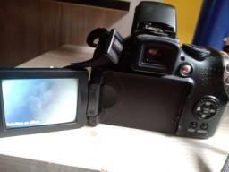 Máquina fotografica profissional da Canon