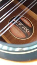 Violão 12 cordas Yamaha - APX700 (estudo trocas)