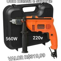 Furadeira Black Decker