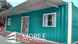 Casa container, pousada, kit net, plantao de vendas escritorio