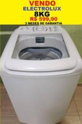 Máquina de Lavar 8Kg Electrolux 127V