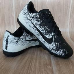 Chuteira Nike Society Black White