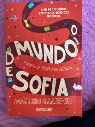 Livro o mundo de Sofia
