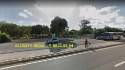 Alugo na Washington Soares Terreno com 9,000 m² para fins comerciais