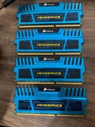 Memória Corsair vengeance DDR3 1600mhz - 16GB 4x4GB