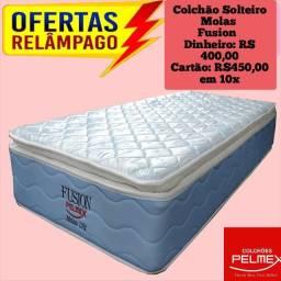 Colchão Solteiro Molas Fusion Pelmex