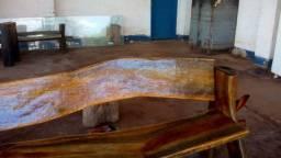 Banco rústico,  todo em madeira bruta ,,(17) * whats)