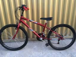 Vendo Bicicleta Masculino e Feminina Aro 24-Idade 7 a 12 anos-Pouco Uso-Revisada