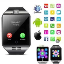 Relógio Smart Watch Q18 Inteligente Celular Android