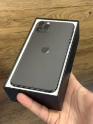 IPhone 11 Pro Max 64GB Space Gray Preto - Aceito cartão. Na caixa, em perfeito! 64 gb