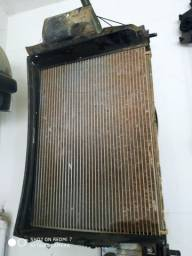 Kit radiador,eletroventilador e condensador Fiat Palio e grande siena