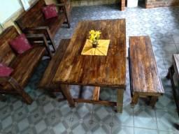 Mesa de Jantar de palets rústicos