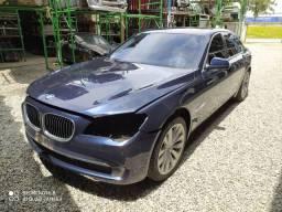 Sucata BMW 740 hybrid.
