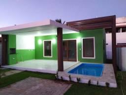 Casa - Tibau do Sul - 90m² - 2/4 sendo uma suíte - Piscina