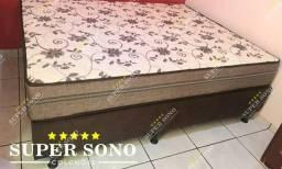 Conj Box Style Probel Queen Size 158x198 Mola Ensacada A Pronta Entrega