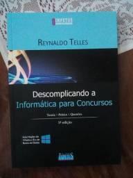 """""""Descomplicando a Informática para concursos"""" em ótimas condições"""