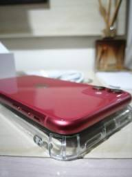 IPhone 11 RED (impecável 05 meses de uso, completo e com garantia até 2022) imperdível!