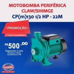 Motobomba claw/ Shimge 0,5 hp ? Entrega grátis