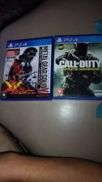 Vendo jogo de PS4, ou troco por GTA 5 ps4.