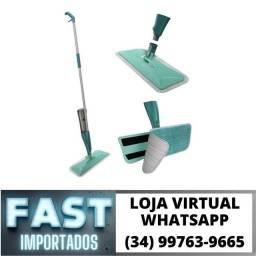Rodo Mop Spray para Limpeza - Com Borrifador