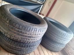 4 pneus medida 255/55R19 valor:1.700 reais