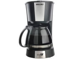 Cafeteira Elétrica Mallory Aroma 16 Inox Preta - 16 Xícaras