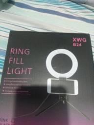 Ring Light Mesa Profissional Luz Alta Intensidade Com Tripe