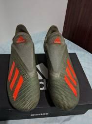 Chuteira profissional de campo Adidas x19.3 FG n:42