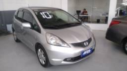 Honda Fit 2010 completo+GNV: Ent+48x699 IPVA 2021 grátis