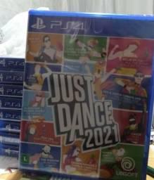 Jogo novo Just Dance 2021 ps4 ps5. Retirada Portão