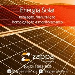 Energía Solar - Faça seu orçamento grátis