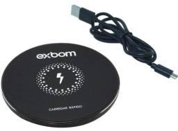 (NOVO) Carregador wireless Exbom