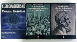 Combo - 3 Livros técnicos/consulta de Física/Eletricidade