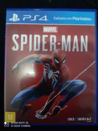 Jogo Spider Man PS4 Mídia Física