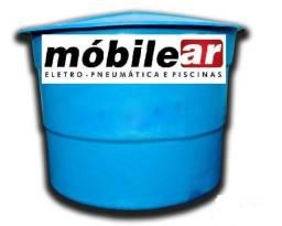 Caixa de fibra modelo convencional 10.000 litros.