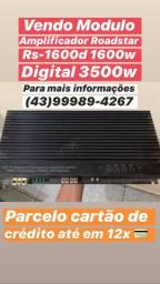 Modulo Amplificador Roadstar Rs-1600d 1600w Digital 3500w