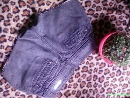 Short jeans bem curto