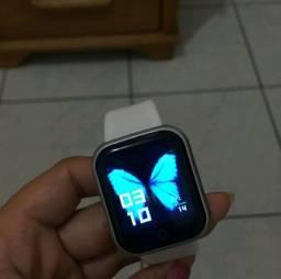 Smartwatch na caixa
