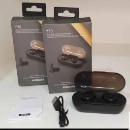 Fone de Ouvido Sem Fio Y30 Bluetooth PROMOÇÃO