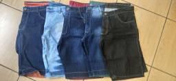Bermudas Jeans de qualidade