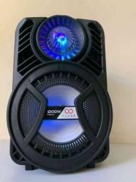 Caixa de Som 1200W ALP 805 C/ Bluetooth e Microfone