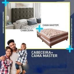 /// Cama Box Master + Cabeceira Casal - Em 10 x Cartão ///