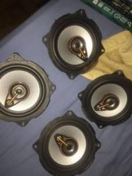 4 Falantes de portas 5 polegadas 25rms cada