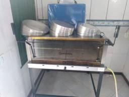 Forno industrial para Pizzaria + Bandejas + Bag