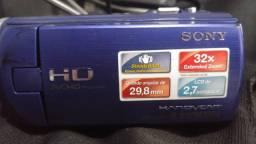 Filmadora Sony hdr cx220 fulhd 1080 para lives saída limpa