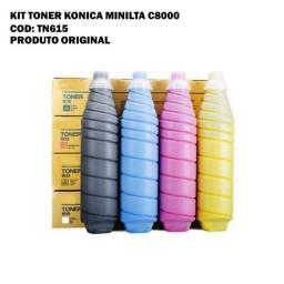 Toner original TN 615 Konica Minolta C8000