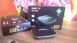 Tv box R69  16Ram 128Rom 8K Ultra HD 6D 5G