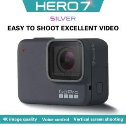 Câmera GoPro Hero7 Silver 4K Ntsc/Pal Frete Gratis Para Todo o Brasil
