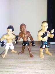 Coleção de bonecos do UFC (3 Bonecos UFC originais 70,00)