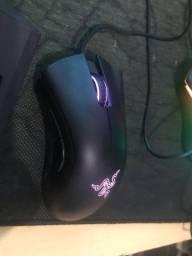 Kit Gamer Razer Deathadder Chroma e Teclado Gamer